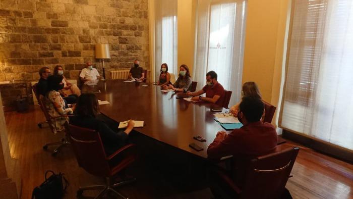 Imatge de la reunió de govern