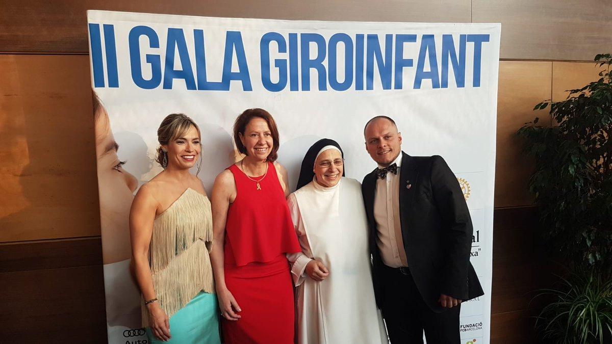 Marta Madrenas participa a la 2a edició de la gala benèfica de Giroinfant