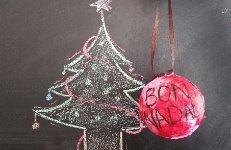 Bola decorativa nadalenca