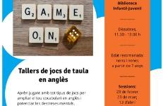 Game On: jocs de taula en anglès