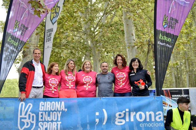 L'alcaldessa de Girona dóna el tret de sortida a la 6a edició de la Cursa de la Dona.