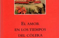 El amor en los tiempos del cólera de Gabriel Garcia Márquez