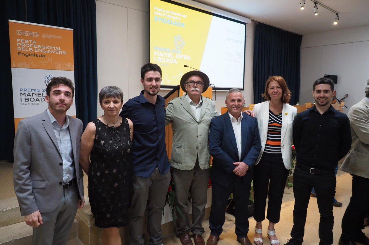 Madrenas participa a l'Engidiada i als Premis Manel Xifra i Boada 2019.