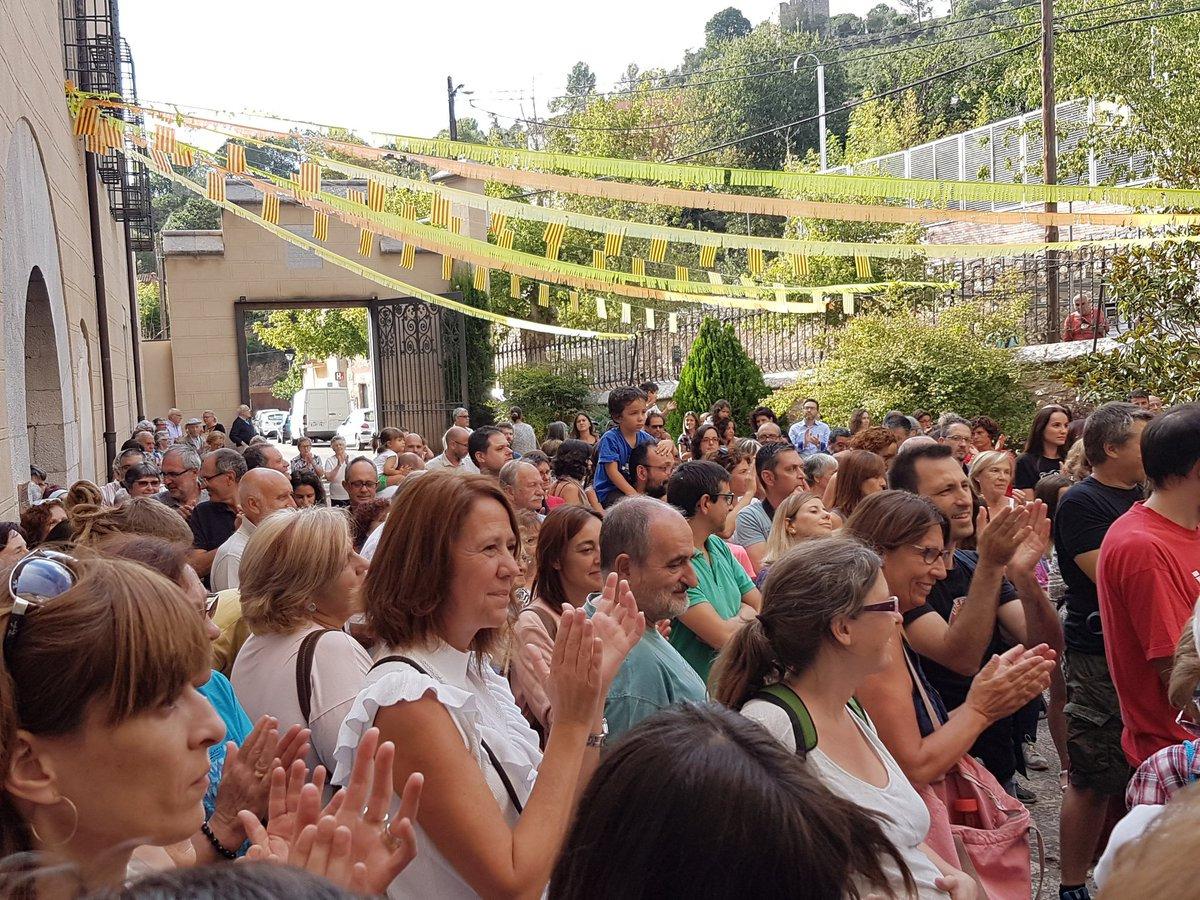 L'alcaldessa de Girona participa als actes de la Festa Major de la Vall de Sant Daniel.