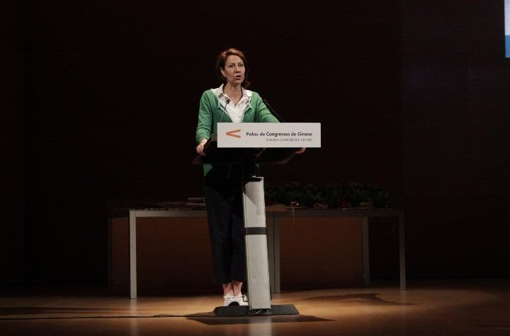 L'alcaldessa de Girona assisteix als 39ens Jocs Florals i Literaris de Primària