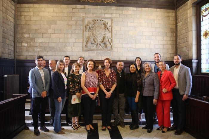 L'alcaldessa rep una delegació de la ciutat hondurenya de Siguatepeque