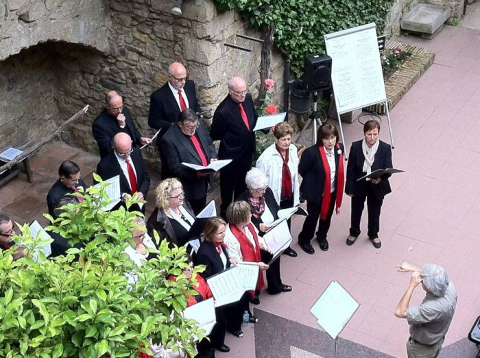 Choral cycle in 'Girona, Temps de Flors'