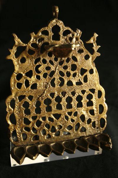�clairage de lampes de Hanoucca
