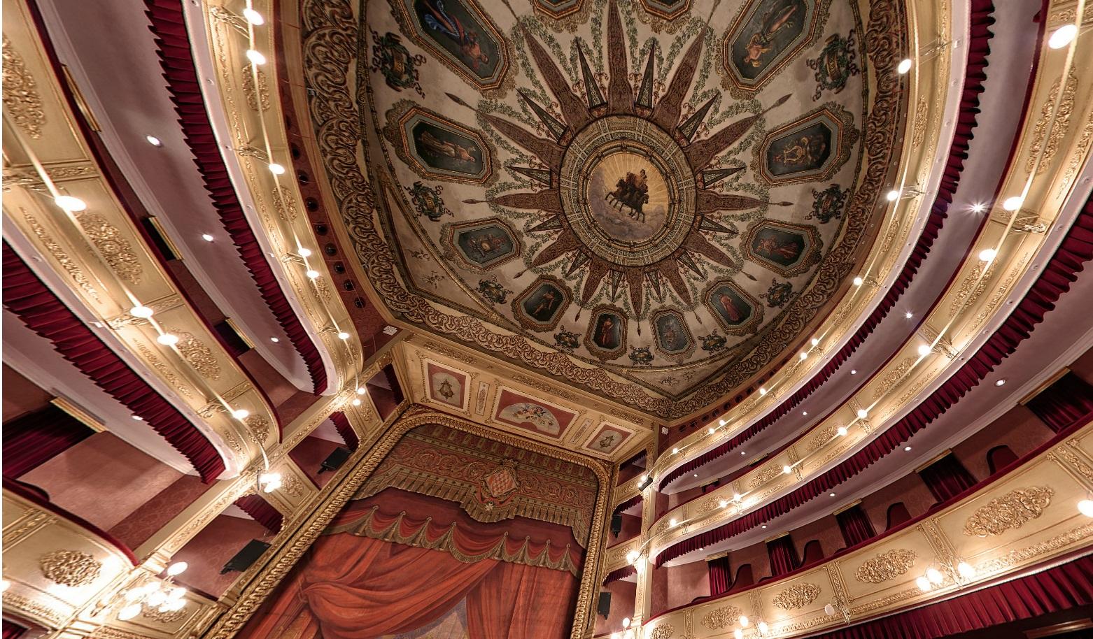 Visita virtual al Teatre de Girona