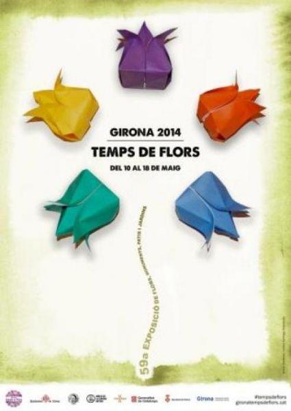 Girona, Temps de Flors 2014
