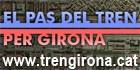 El pas del tren per Girona