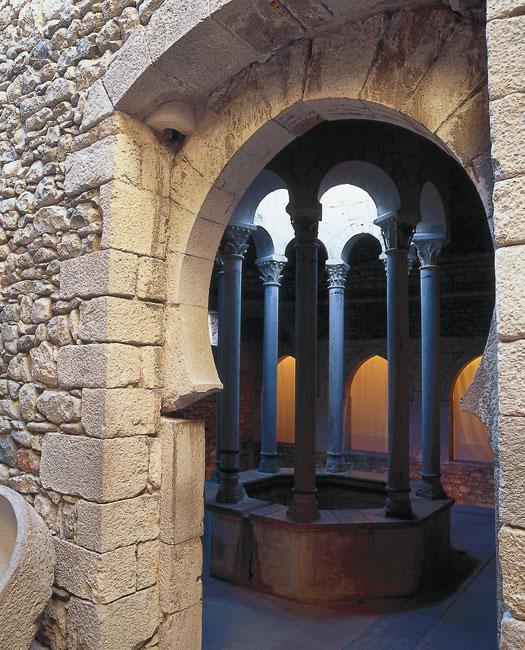 Baños Romanos Girona:Los Baños Árabes