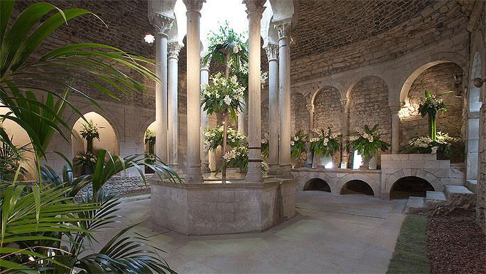 Resultado de imagen de baños arabes girona