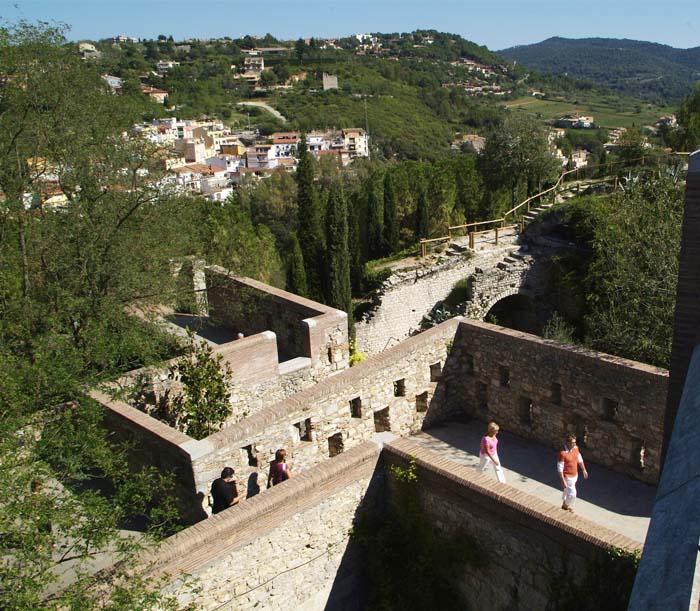 Las murallas turismo ayuntamiento de girona - Oficina de turismo girona ...