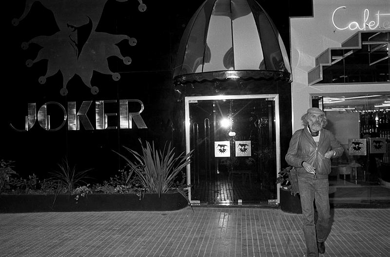 Narcís Sans i Prat. [Georges Moustaki al pub Joker]. 09/12/1980.